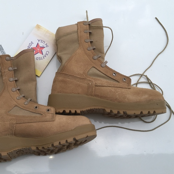 Belleville 390 DES 6R desert tan combat boots